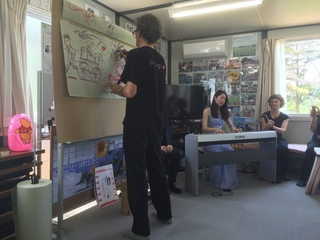 仮設住宅集会所でのプロジェクト.JPG